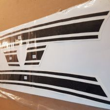 GP  panel stripes( gloss black)